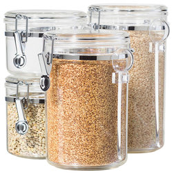 Contemporary Kitchen Canisters And Jars by JENSEN-BYRD CO INC
