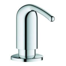 LadyLux / Zedra Soap Dispenser, Chrome