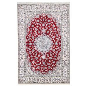 Nain 9La Persian Rug, Hand-Knotted, 313x200 cm