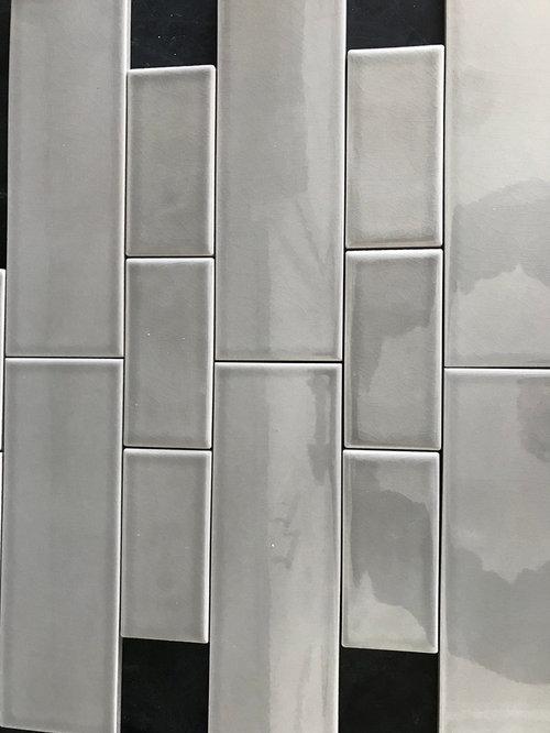 Mixing Subway Tile Sizes On Backsplash