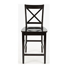 Simplicity X-Back Stool - Espresso, Set of 2