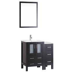 Cute Contemporary Bathroom Vanities And Sink Consoles by Bosconi