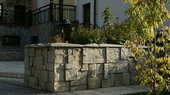 Ландшафтный дизайн и искусственный камень