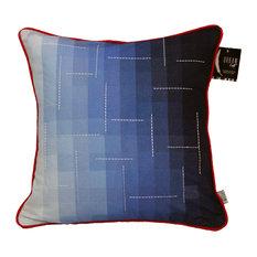 """Blue Gradient Cushion 20""""x20"""""""