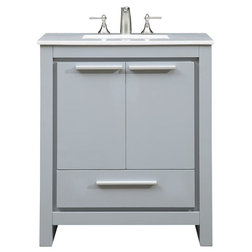 Elegant Contemporary Bathroom Vanities And Sink Consoles by Elegant Furniture u Lighting