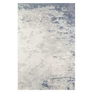 "Illusions Il-03 Blue 5'x7'6"" Rug"