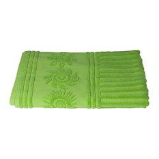 Sandbox Sun 100% Cotton Beach Towel, Lime