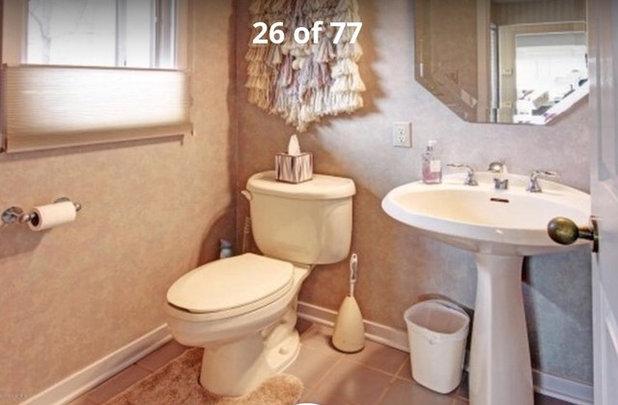 Inspirational Reader Bathroom JOY
