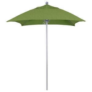 6 Fibergl Patio Umbrella Push Open