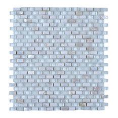 "Legion Furniture 11.75""x11.75"" Polar Ice Mosaic Tile"