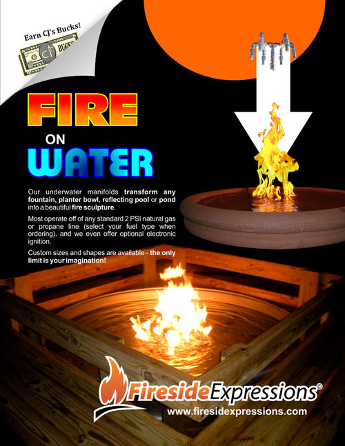 Fire On Water Fountains More Info