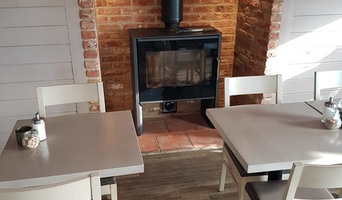 The Boatyard Cafe project- Log burning stove