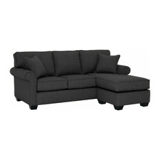 Nice Apt2B   Lafayette Reversible Chaise Sofa, Charcoal   Sectional Sofas