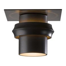 Hubbardton Forge (364903) 1 Light Twilight Medium Outdoor Semi-Flush