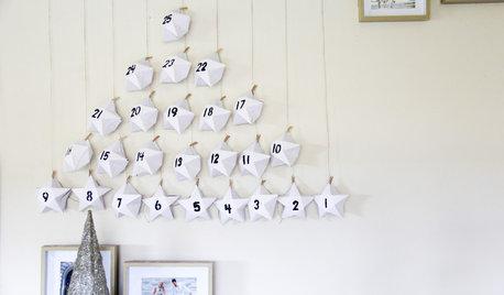 DIY : Un calendrier de l'Avent en origami