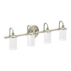 Moen Belfield Brushed Nickel Bath Light YB6464BN