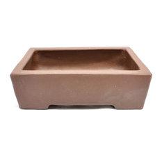 Purple Clay Rectangular Bonsai Pot