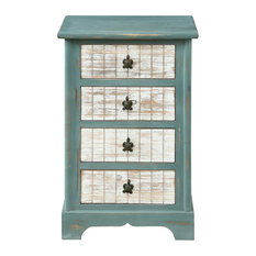 4-Drawer Accent Chest, Deep Sea Teal
