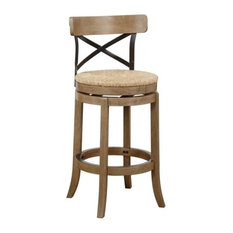 Bowery Hill 29-inch Bar Stool In Wire-Brush