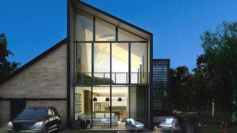 Grandiose Einfamilienhaus Visualisierung
