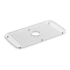 "Kohler Stainless Steel Sink Rack, 13-3/4"" X 27-1/2"", Stainless Steel"