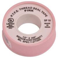 Proplus 1/2 in. x 260 in. Pink Teflon Tape
