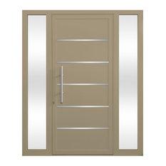 Cbw Windows And Doors Electra Entry Door 44 X84 Beige