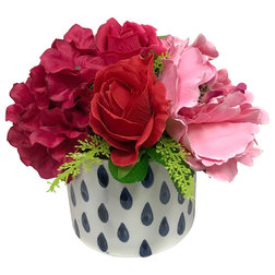 Contemporary Artificial Flower Arrangements by Silk Flower Depot