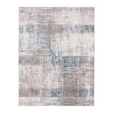 Safavieh Craft Collection CFT874 Rug, Grey/Blue, 9'x12'
