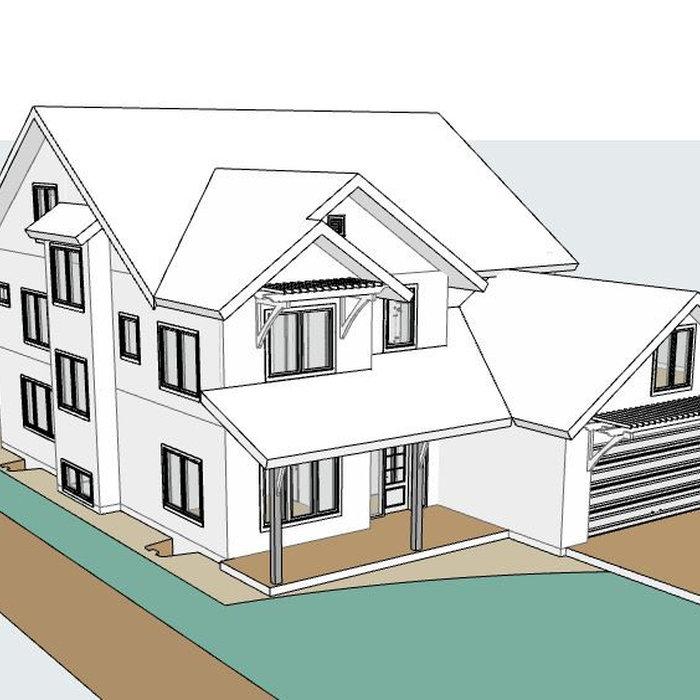 Contemporary Farmhouse Forever Home **UNDER CONSTRUCTION**