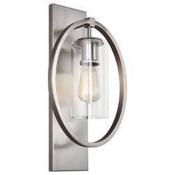 Industrial Bathroom Vanity Lighting by Generation Lighting