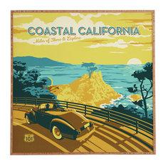 Deny Designs Anderson Design Group Coastal California Framed Wall Art