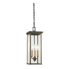 Minka-Lavery 72584-143C 4 Light Chain Hung Lantern Casway Oil Rubbed Bronze
