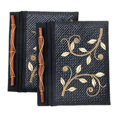 Dancing LeavesPandanus Journals, Set of 2