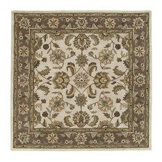 "Kaleen Tara Square Collection Rug, 9'9""x9'9"" Square"