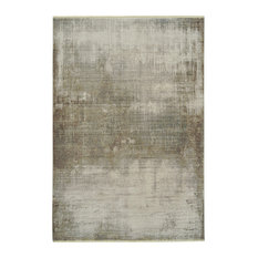 """Kaleen Scottsman Collection Indoor Polyester Area Rug, Silver, 7'10""""x10'10"""""""