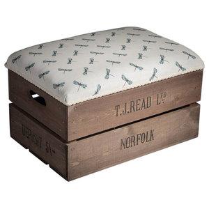 Apple Box Footstool, Dragonfly