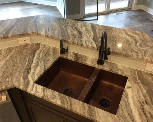 Exotic Stone Countertops : Fantasy brown exotic granite countertops