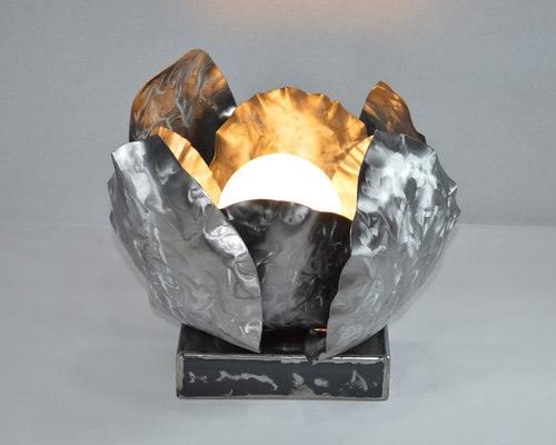 Lampe de table en métal - Lampe à Poser