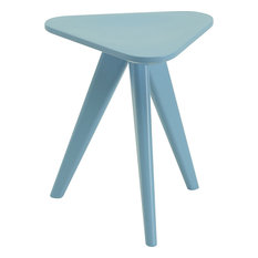 Karla Stool, Dust Blue Lacquer