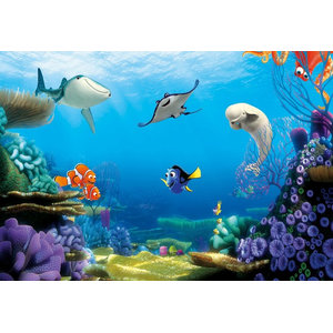 Disney Finding Dory Photo Wall Mural, 368x254 cm