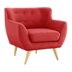 Gerald Accent Chair, Red