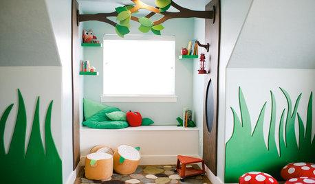 Zauberhaft! Ein Kinderzimmer wird zum verwunschenen Spielparadies