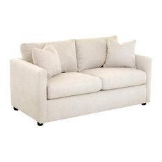 Klaussner Furniture Jaylen Full-Size Sleeper Sofa, Vanilla