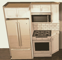 Fridge And Stove Side By Is This Ok