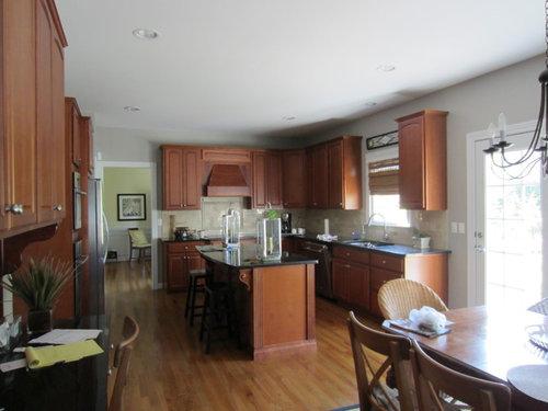 How can I improve my kitchen. Should I remove cabinet doors?