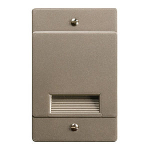 Kichler 12666NI Step and Hall 120V LED Step Light Non-Dimmable Brushed Nickel