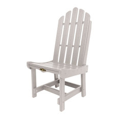 Pawleys Island Durawood Essentials Dining Chair, Gray, Single Chair