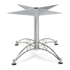 Large Chrome Table Base