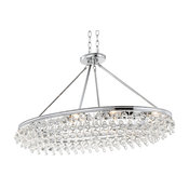 Calypso 8 Light Chandelier in Polished Chrome